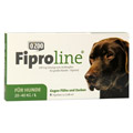 FIPROLINE 268 mg Lsg.z.Auftropf.f.große Hunde 4 Stück