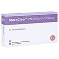 MUCOCLEAR 3% NaCl Inhalationslösung 20x4 Milliliter