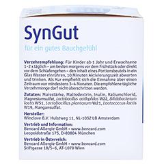 SYNGUT Synbiotikum m.Probiotika u.Prebiot.Beutel 15 Stück - Linke Seite