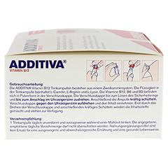ADDITIVA Vitamin B12 Trinkampullen 30 Stück - Linke Seite