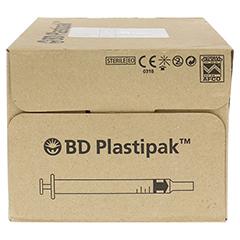 BD PLASTIPAK Tuberkulinspr.1 ml o.Kanüle 120x1 Milliliter - Linke Seite