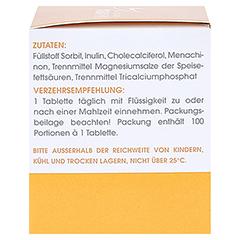 TOP D 2000 Tabletten 100 Stück - Linke Seite