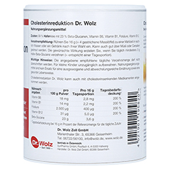 CHOLESTERINREDUKTION Dr.Wolz Pulver 224 Gramm - Linke Seite