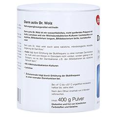 DARM ACTIV Dr.Wolz Pulver 400 Gramm - Linke Seite