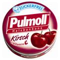 PULMOLL Hustenbonbons Wildkirsch zuckerfrei 20 Gramm