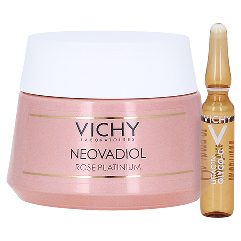 Vichy Neovadiol Rose Platinium Tagespflege + gratis Vichy Liftactiv Ampullen Glyco-C 50 Milliliter