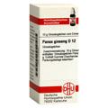 PANAX GINSENG D 12 Globuli 10 Gramm