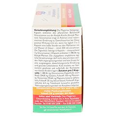 MEGAMAX Sättigungskapseln Glucomannan 60 Stück - Rechte Seite