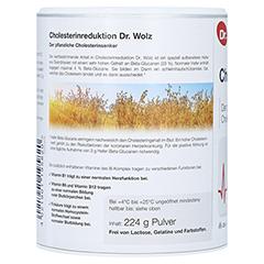 CHOLESTERINREDUKTION Dr.Wolz Pulver 224 Gramm - Rechte Seite