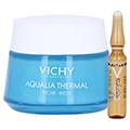 Vichy Aqualia Thermal Feuchtigkeitspflege reichhaltig + gratis Vichy Liftactiv Ampullen Glyco-C 50 Milliliter