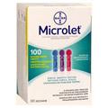 MICROLET Lanzetten farbig 100 Stück