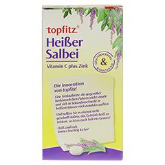 TOPFITZ heißer Salbei Trinktabletten 10 Stück - Rückseite