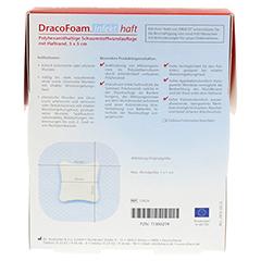 DRACOFOAM Infekt haft Schaumst.Wundauf.5x5 cm 10 Stück - Rückseite