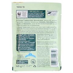 KNEIPP BADEKRISTALLE Wiesenkräuter 60 Gramm - Rückseite