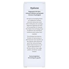 HYALURON Nachtpflege riche Creme 50 Milliliter - Rückseite