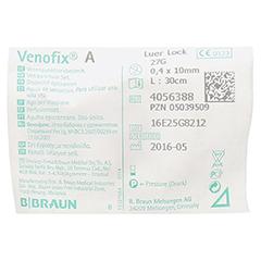 VENOFIX A Venenpunktionsbest.27 G 0,4 mm grau 1 Stück - Rückseite