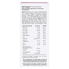 ZELL OXYGEN Immunkomplex flüssig 250 Milliliter - Rückseite