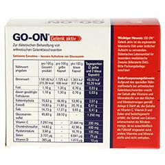 GO-ON Gelenk aktiv Kapseln 2x60 Stück - Rückseite