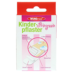 KINDERPFLASTER Prinzessin 10 Stück - Rückseite