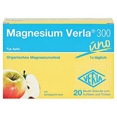 Magnesium Verla 300 Apfel Granulat 20 Stück - Vorderseite