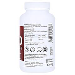 COENZYM Q10 FORTE 200 mg Kapseln 240 Stück - Linke Seite