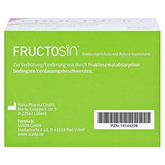 Fructosin Kapseln 90 Stück - Unterseite