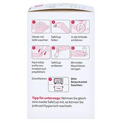 SAFECUP Vagisan Menstruationstasse Gr.L 1 Stück - Linke Seite