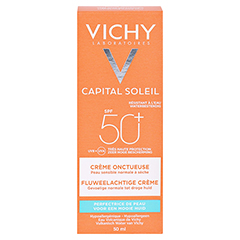 Vichy Ideal Soleil Sonnencreme für das Gesicht LSF 50+ + gratis Vichy Ideal Soleil After-Sun 50 Milliliter - Rückseite