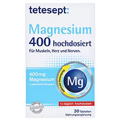 Tetesept Magnesium 400 hochdosiert 30 Stück - Vorderseite