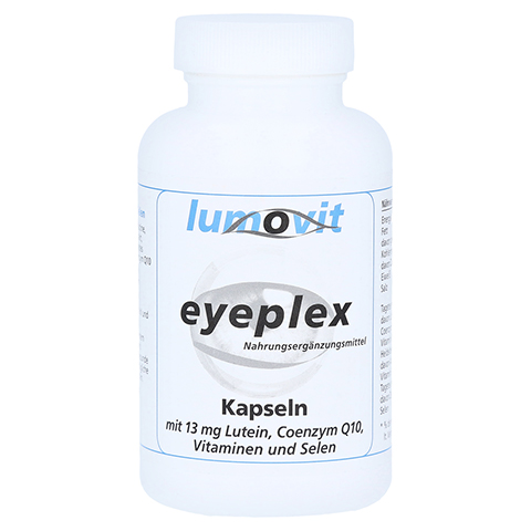 EYEPLEX Nahrungsergänzungsmittel Kapseln 100 Stück