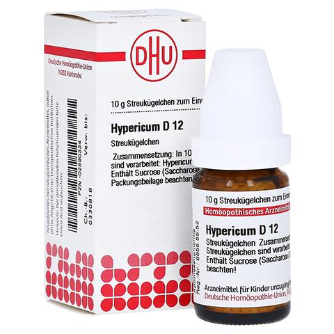 HYPERICUM D 12 Globuli 10 Gramm N1