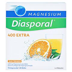 MAGNESIUM DIASPORAL 400 Extra Trinkgranulat 20 Stück - Vorderseite