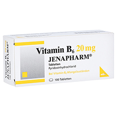 Vitamin B6 20mg JENAPHARM 100 Stück N3