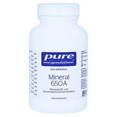 PURE ENCAPSULATIONS Mineral 650A Kapseln 180 Stück