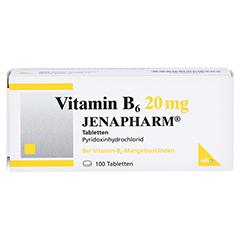 Vitamin B6 20mg JENAPHARM 100 Stück N3 - Vorderseite