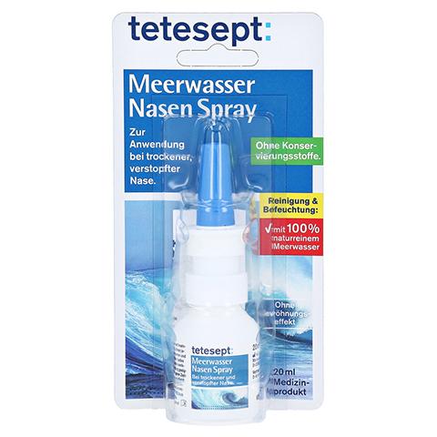 Tetesept Meerwasser Nasenspray 20 Milliliter