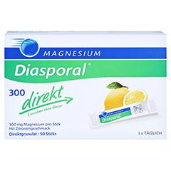 Magnesium Diasporal 300 direkt Granulat 50 Stück - Vorderseite