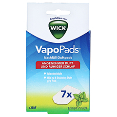 WICK Vapopads 7 Menthol Pads WH7 1 Packung - Vorderseite