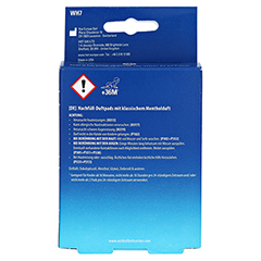 WICK Vapopads 7 Menthol Pads WH7 1 Packung - Rückseite