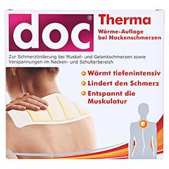 DOC THERMA Wärme-Auflage bei Nackenschmerzen 2 Stück - Vorderseite