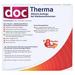 DOC THERMA Wärme-Auflage bei Nackenschmerzen 4 Stück - Rückseite