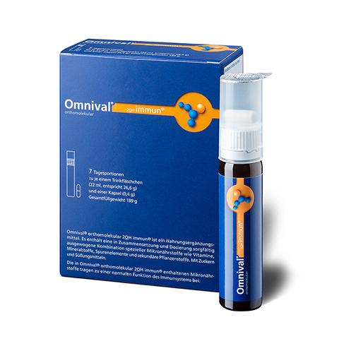 OMNIVAL orthomolekul.2OH immun 7 TP Trinkfl. 7 Stück
