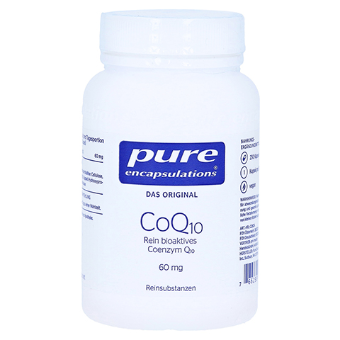PURE ENCAPSULATIONS CoQ10 60 mg Kapseln 250 Stück