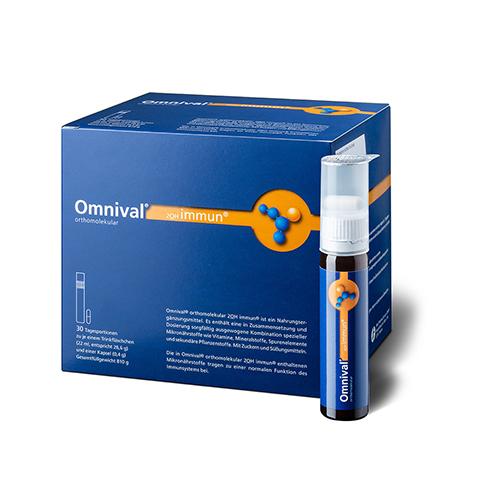 OMNIVAL orthomolekul.2OH immun 30 TP Trinkfl. 30 Stück