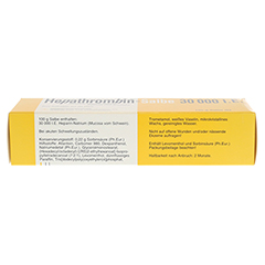 Hepathrombin 30000 150 Gramm N3 - Oberseite
