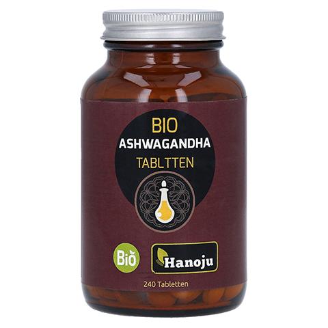 BIO ASHWAGANDHA Pulver 500 mg Tabletten 240 Stück