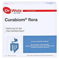 CURABIOM flora Pulver Portionsbtl. 14x16.2 Gramm - Vorderseite