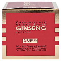 Koreanischer Reiner Roter Ginseng Kapseln 300mg 200 Stück - Rechte Seite