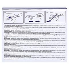 BD MICROLANCE Kanüle 23 G 1 1/4 0,6x30 mm 100 Stück - Rückseite