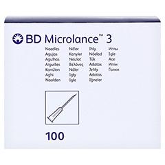 BD MICROLANCE Kanüle 23 G 1 1/4 0,6x30 mm 100 Stück - Vorderseite